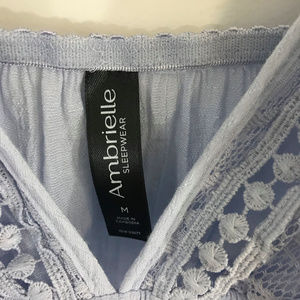 Ambrielle Intimates & Sleepwear - [Ambrielle] Baby Blue Lace Nightie Chemise